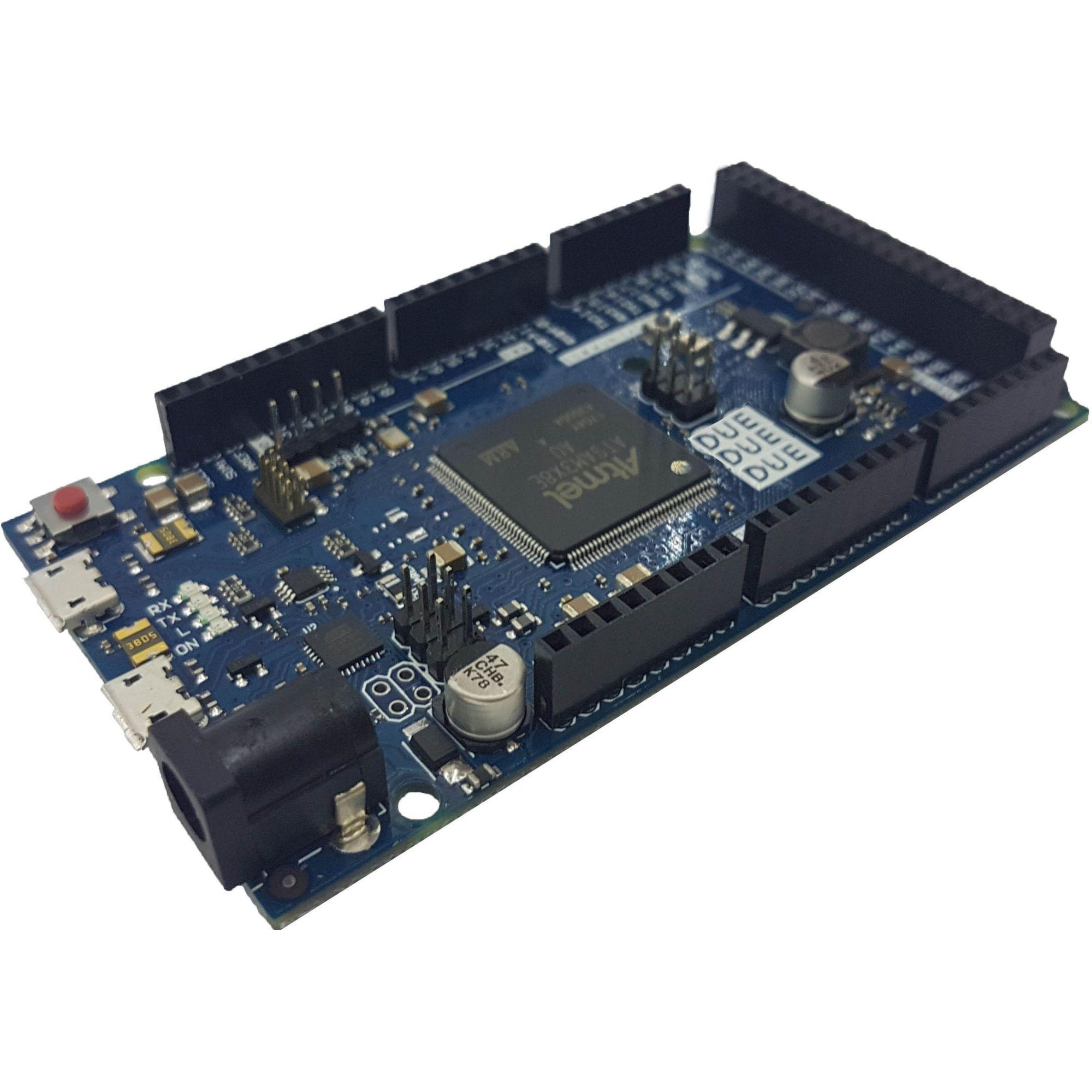 Placa Due com cabo usb para Arduino