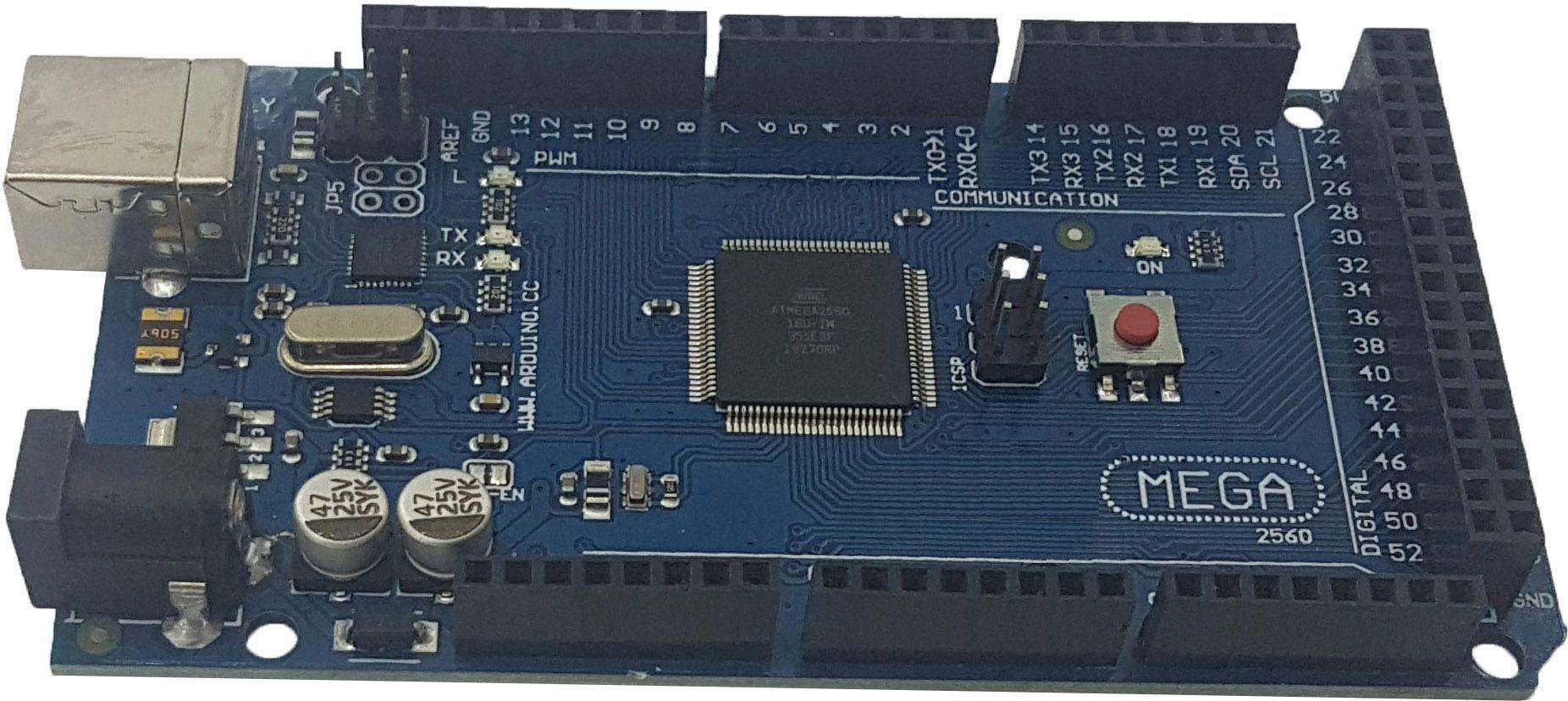 Placa Mega 2560 R3 com Cabo USB para Arduino