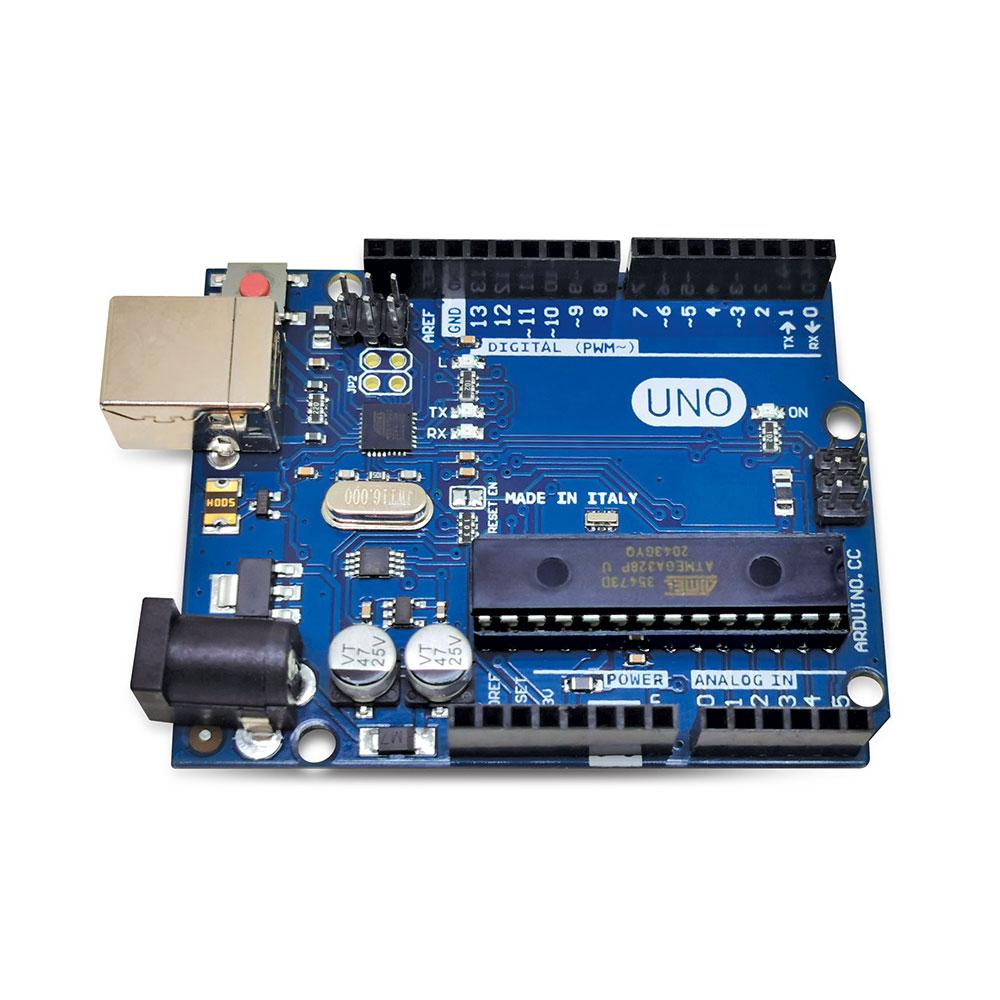 Placa UNO R3  ATmega328 com Cabo USB (Compatível com Arduino)