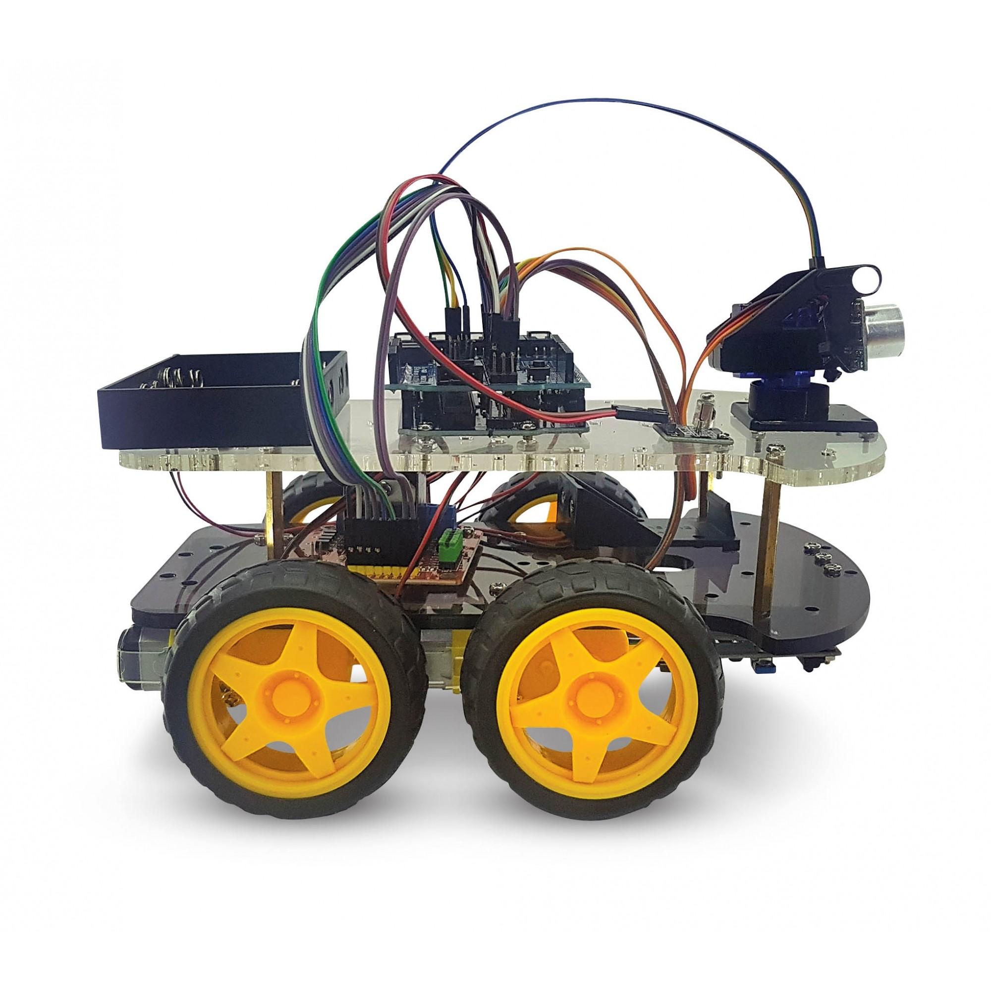 robô 4 em 1