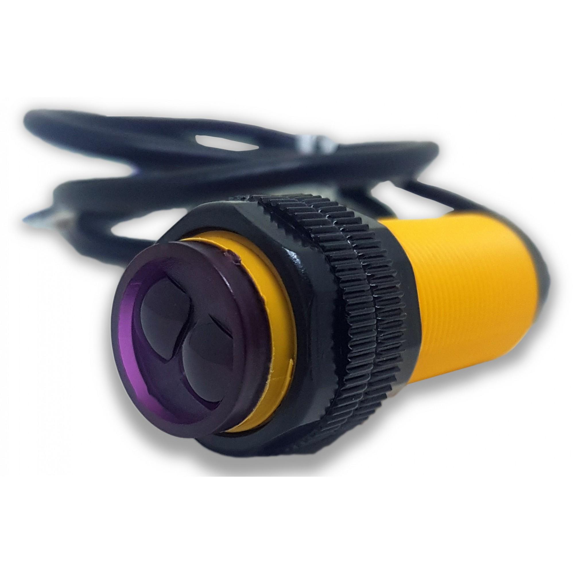 Sensor Reflexivo Infravelho E18 Distância Ajustável