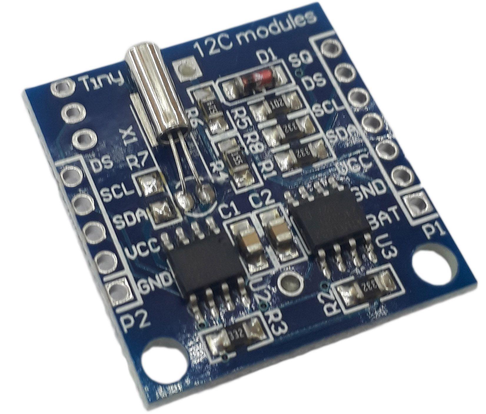 Sensor RTC DS1307 Relógio em Tempo Real (Com bateria)