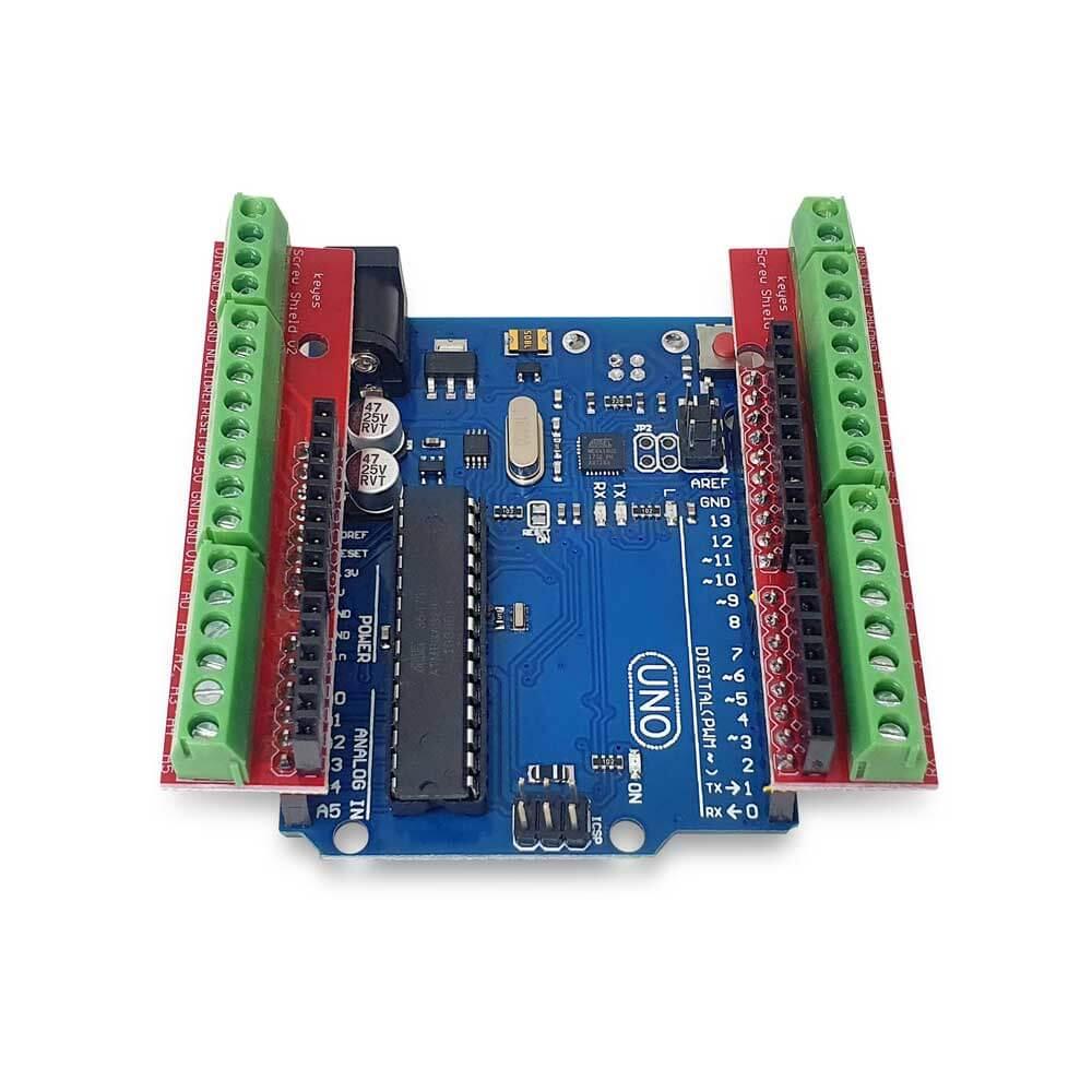 Shield Borne Arduino Uno