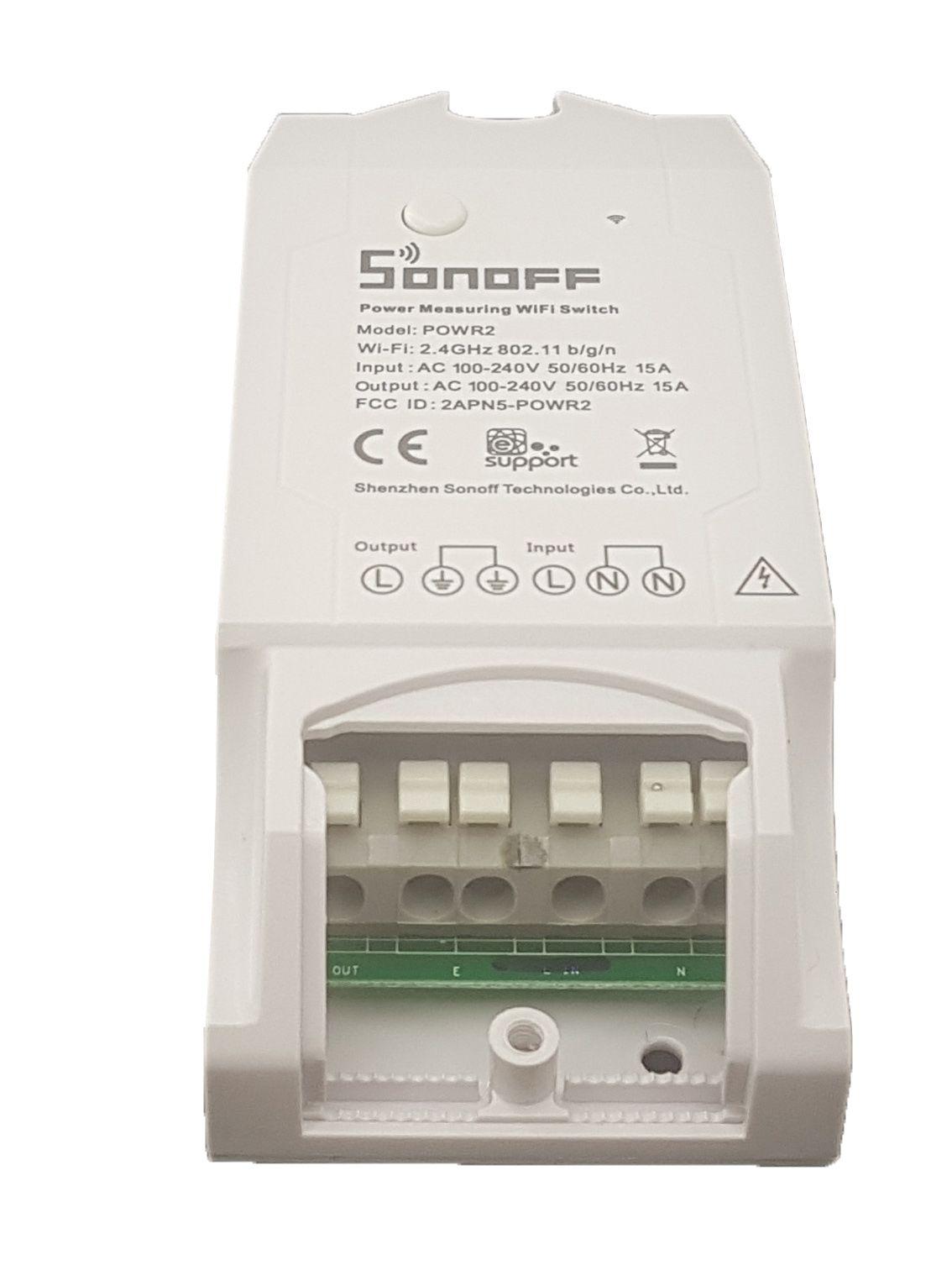 Sonoff POW R2 Interruptor Wifi (Medidor de Energia)