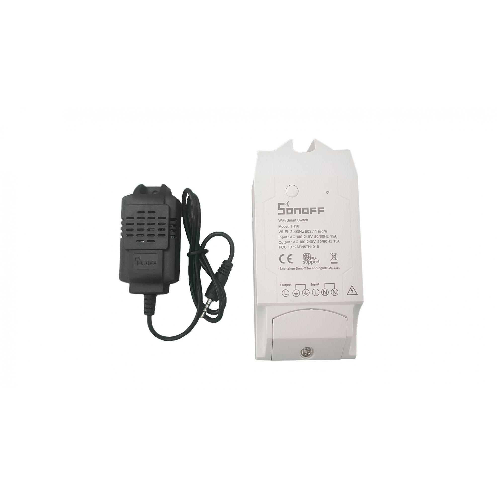 Sonoff TH 16 (Temperatura e umidade)