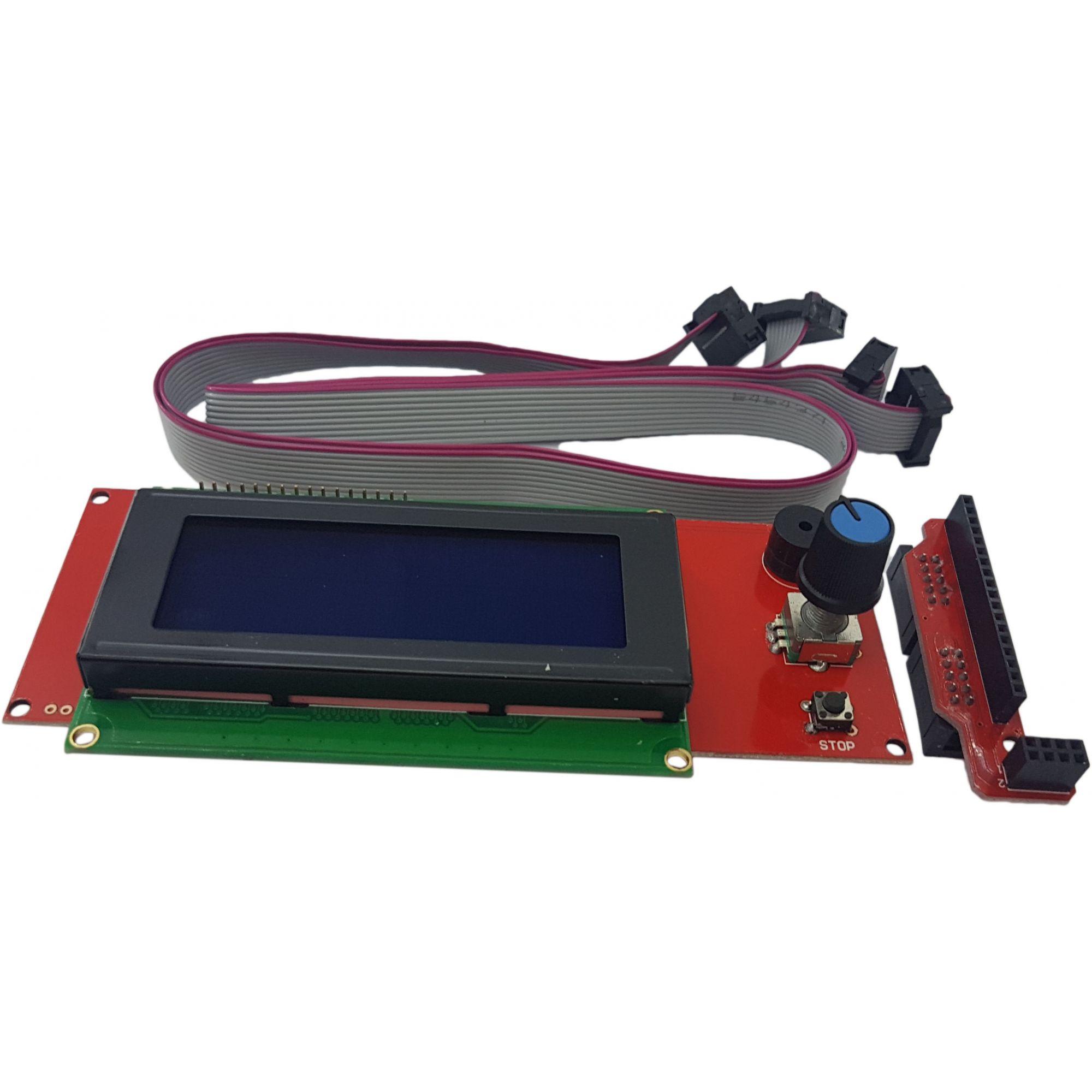 Tela Display 2004 Ramps 20x04 Impressora 3D