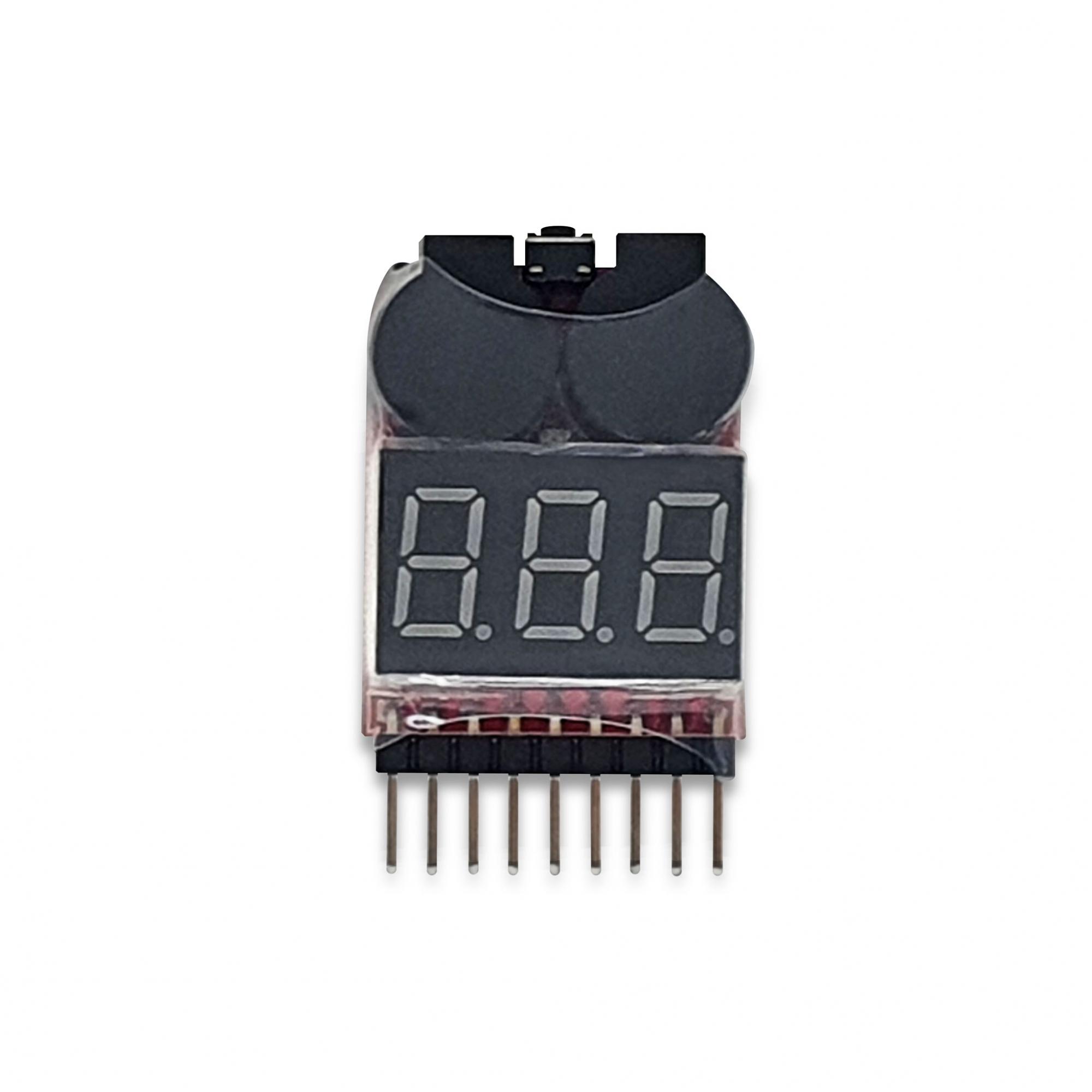 Teste Bateria Li-po 1-8 S