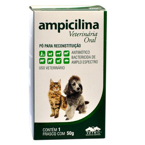 Ampicilina Veterinária Oral - 50ml