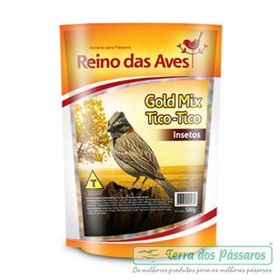 Gold Mix Tico Tico Insetos - 500g