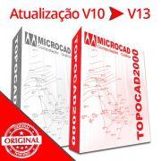 ATUALIZAÇÃO TOPOCAD 2000 V10 PARA V13