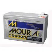 Bateria Moura 9ah Por 12vdc
