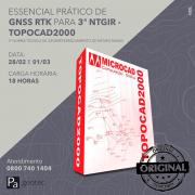 Curso Prático de GNSS RTK para o Geo Presencial dias 28/02 e 01/03