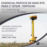Curso Prático de GNSS RTK para o Geo Presencial dias 31/01 e 01/02