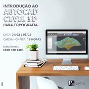 Introdução ao AutoCAD Civil 3D para Topografia