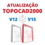 TOPOCAD2000 - ATUALIZAÇÃO V12 PARA V15