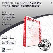 Treinamento Prático de GNSS RTK para o Geo Presencial dias 28 e 29 de Março 2019