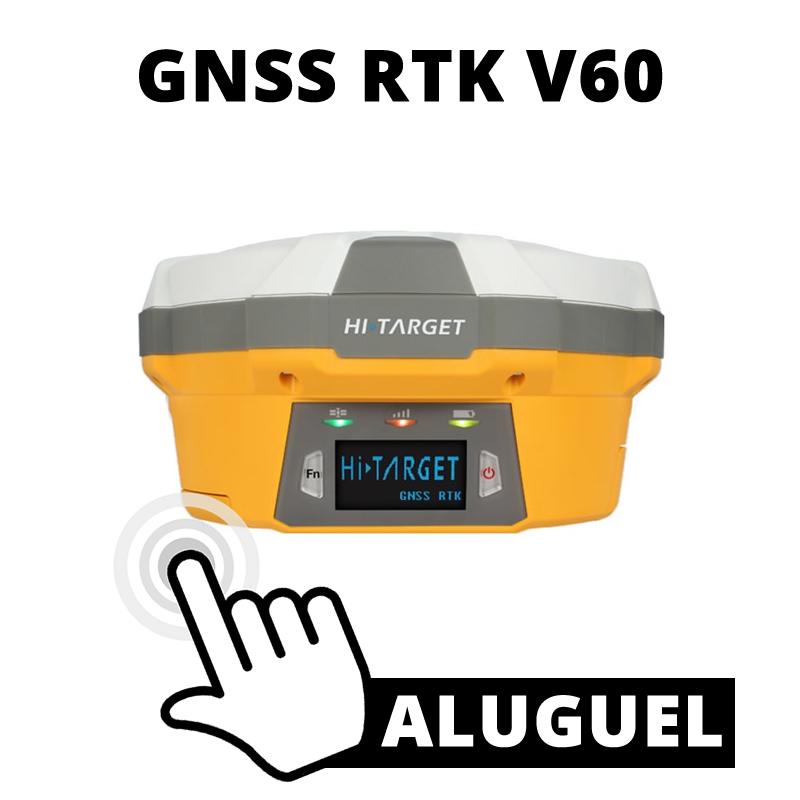 ALUGUEL DE GNSS RTK V60