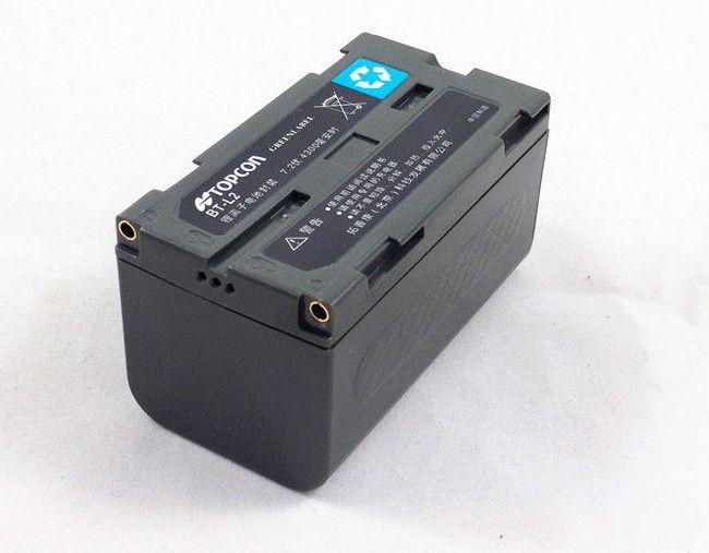 Bateria modelo BT-L2 para Estação Total Topcon OS-602G / OS-605G / ES-602 / ES-605