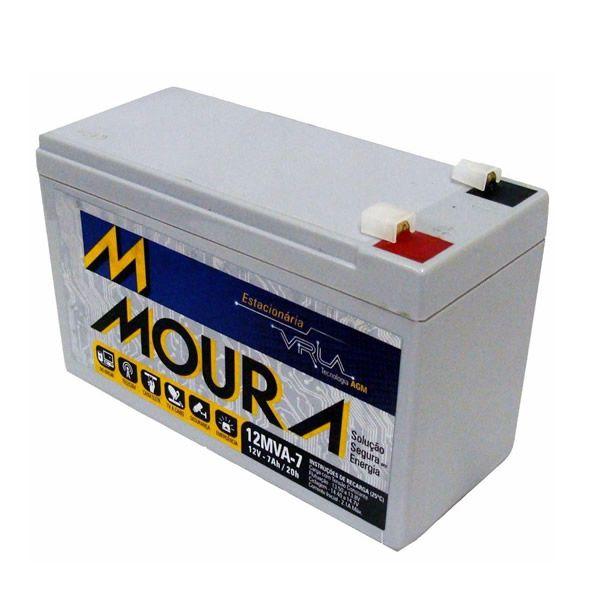 Bateria Moura 7ah Por 12vdc