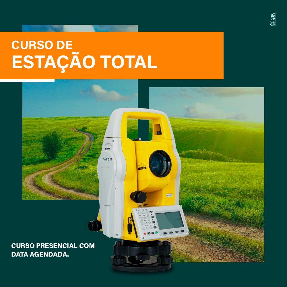 CURSO DE ESTAÇÃO TOTAL - PRESENCIAL