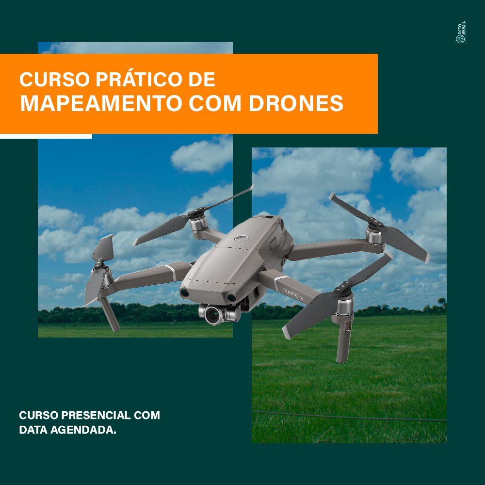 CURSO PRÁTICO DE MAPEAMENTO COM DRONES - PRESENCIAL