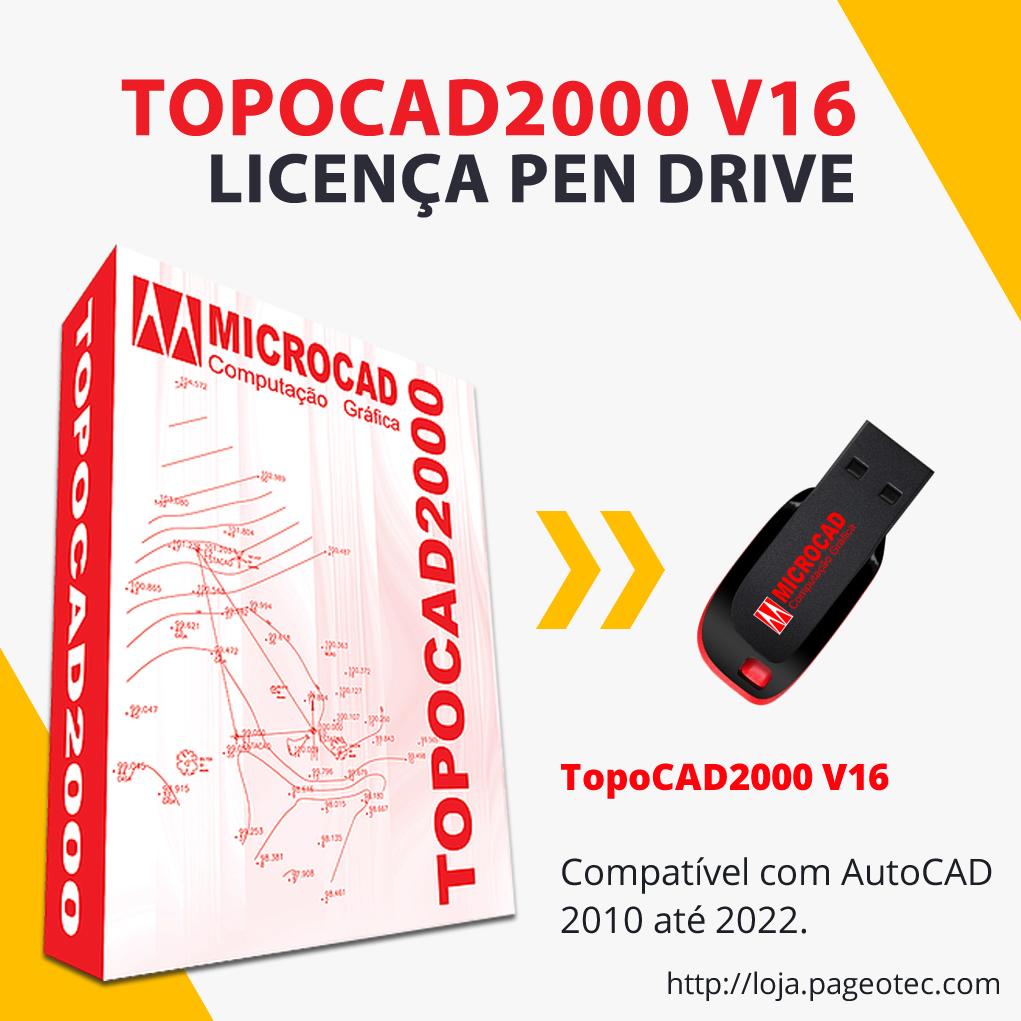 TOPOCAD2000 V16