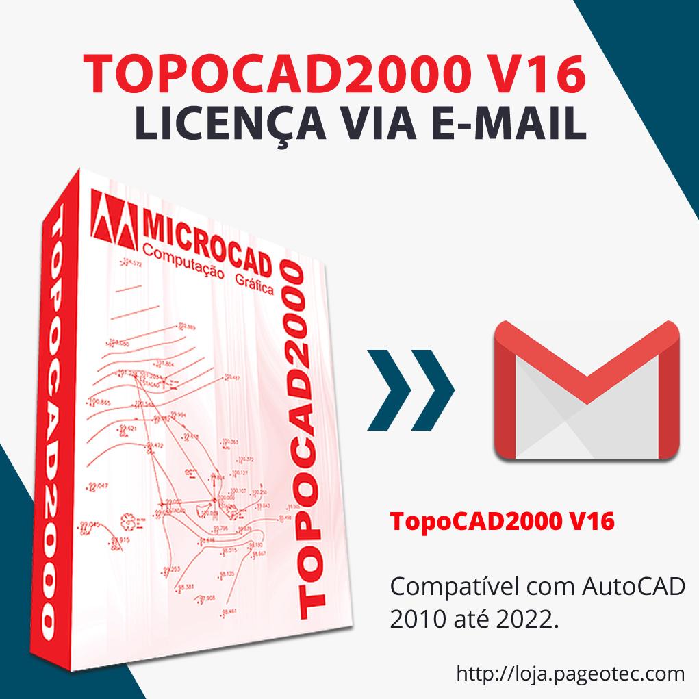 TOPOCAD2000 V16 - Envio por E-mail