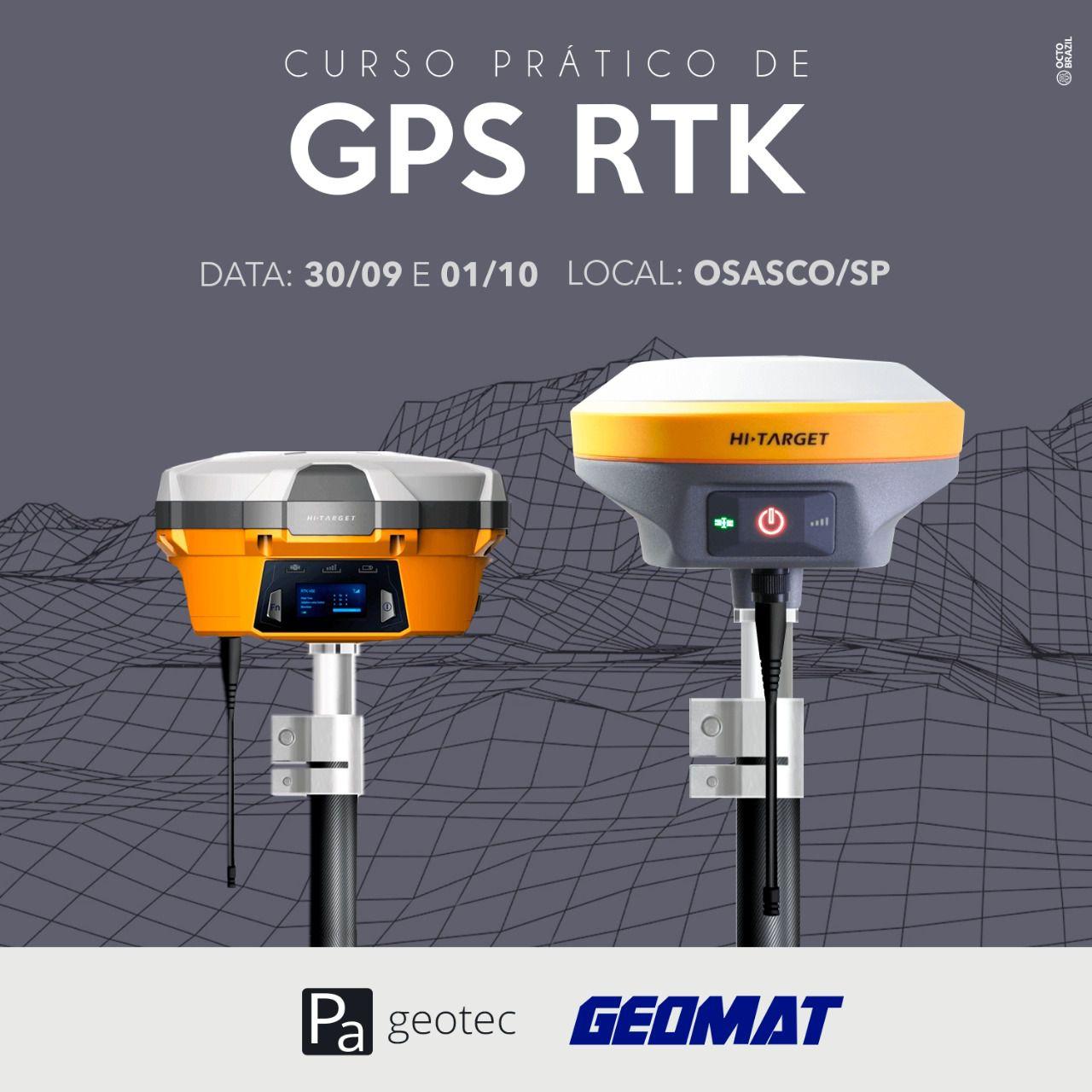 Treinamento Prático de GNSS RTK Operacional - Osasco/SP