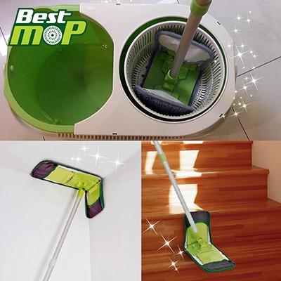 Kit com 3 unidades do Refill para Best Mop (esfregão com rodinhas)