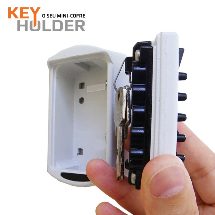 Mini Cofre Guarda Chaves Key Holder (Modelo Novo)