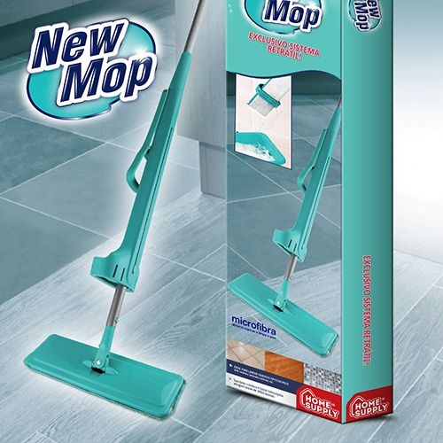 NEW MOP (Esfregão com Sistema Retrátil Exclusivo)