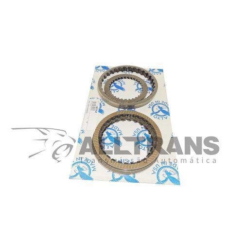 Kit Discos Composite, Automático Câmbio 6hp19, Bmw, Audi  - Alltrans - Transmissão Automática