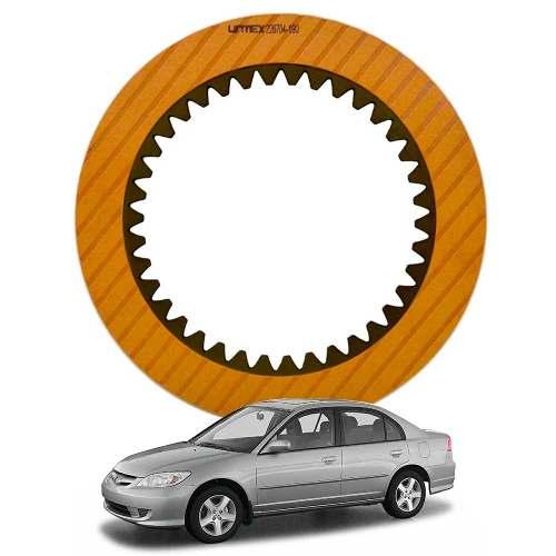 Disco de Composite Avulso do Câmbio Automático SLXA Honda Civic 1.7  - Alltrans - Transmissão Automática