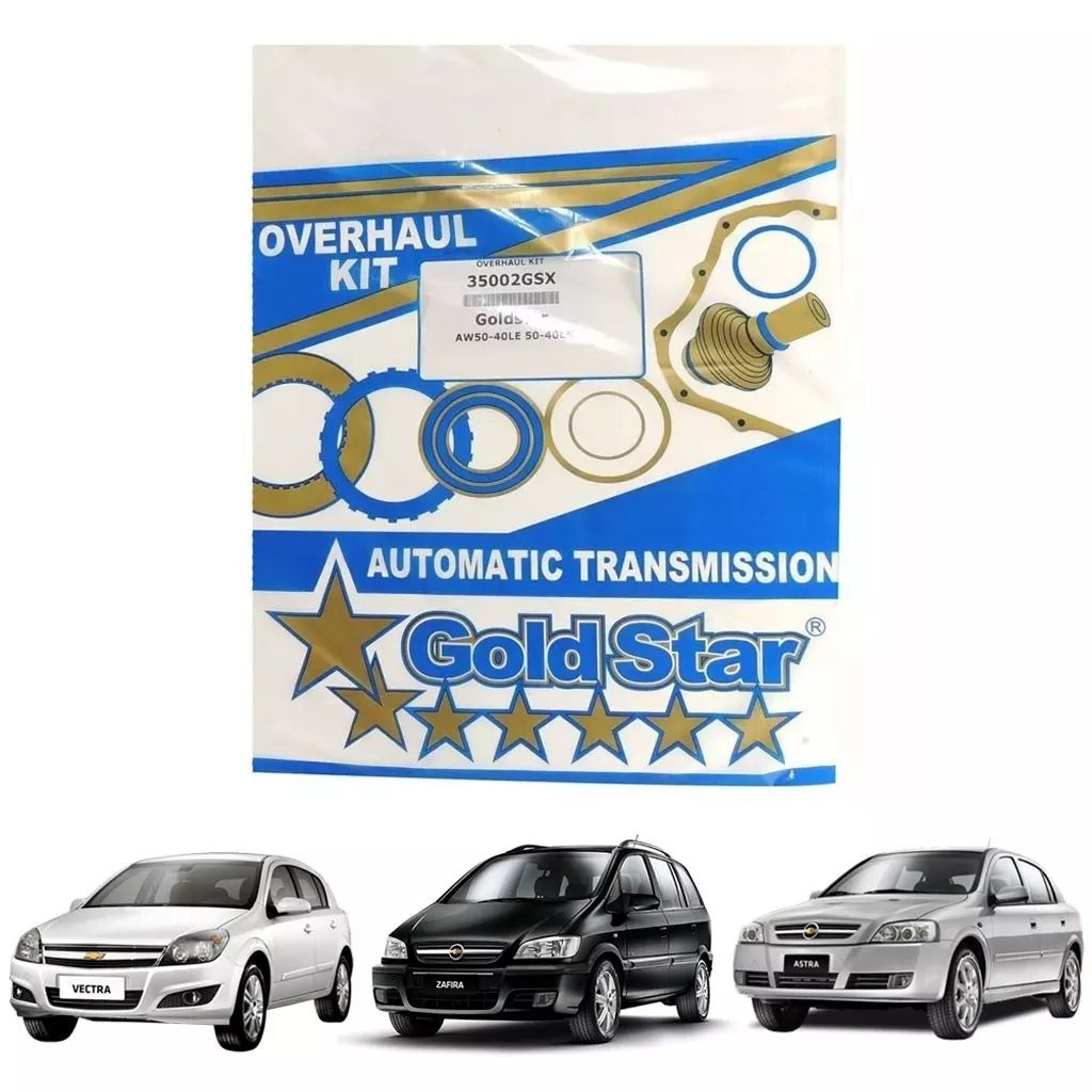 Banner kit, Câmbio automático AW 50-40, Vectra Zafira   - Alltrans - Transmissão Automática