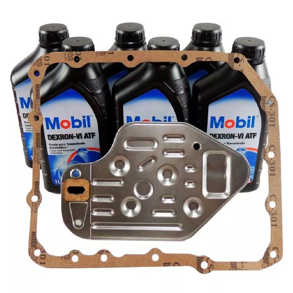 Kit Troca De Óleo Cambio Automático 4l30e, Bmw E Omega 6 Litros  - Alltrans - Transmissão Automática