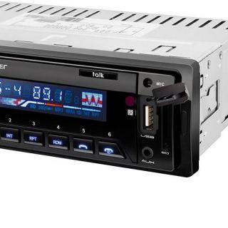 Auto Rádio Multilaser Talk P3214 - Bluetooth, Rádio FM, Entradas USB, SD e AUX