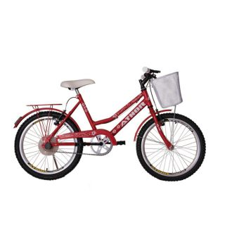 """Bicicleta Athor Aro 20"""" Nature com Cestão"""
