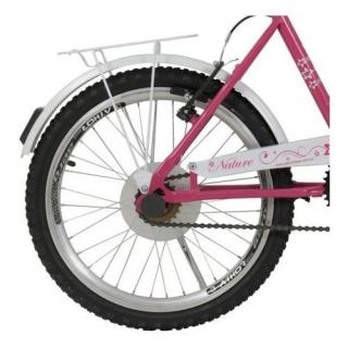 Bicicleta Infantil Aro 20 Nature Feminina Com Cesto Athor