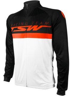Camisa TSW Pro Line Preto / Laranja Tamanho G