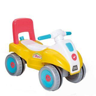Carrinho Infantil Calesita Comfort Plus Amarelo/Azul