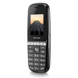 Celular Multilaser Up Play Dual Chip Mp3 Com Câmera Preto P9076