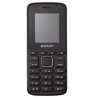 Celular Semp Go 1L 1810 Dual Chip Preto Tela 1.8