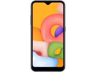 Celular / Smartphone Samsung Galaxy A01 32GB Preto Octa-Core - 2GB RAM Tela 5,7'' Câm. Dupla + Câm. Selfie 5MP