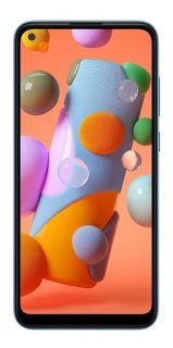 Celular / Smartphone Samsung Galaxy A11 Azul 64GB, Câmera Tripla, Tela Infinita de 6.4