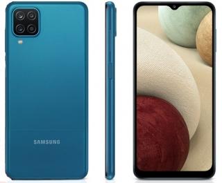 """Celular / Smartphone Samsung Galaxy A12 64GB, Tela Infinita de 6.5"""", Câmera Quádrupla, Bateria 5000mAh, 4GB RAM e Processador Octa-Core"""