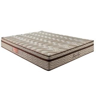 Colchão Paropas Marcelly Ibiza Molas Pocket Casal 138x188x28