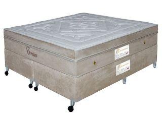 Colchão Queen Paropas Eternium com Pillow Inn e Molas Pocket 32x158x198 cm + BOX