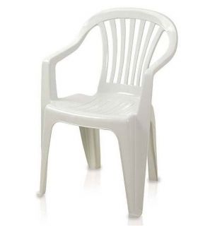 Conjunto de Mesa Plástica com 4 cadeiras Antares Branca
