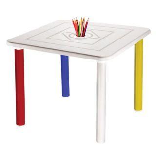 Conjunto de Mesa Plástica Infantil com 3 Cadeiras Nick