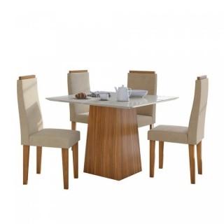 Conjunto Mesa Nevada Plus 1,00 x 1,00 com 4 Cadeiras